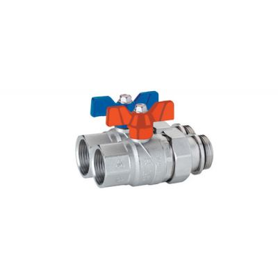 Emmeti Straight Progress Ball Valves with F-MU