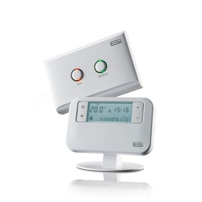 ESRTP4RF+ Esi Control Programmable Room Thermostat RF with Opentherm - DS, OS, OS, TPI, LL, OT