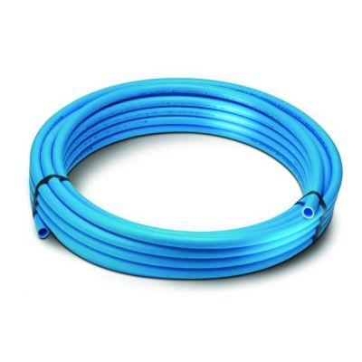PolyPipe MDPE Pipe 25mm -  Blue