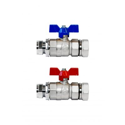 Pair of Omnie Manifold Isolation Valves