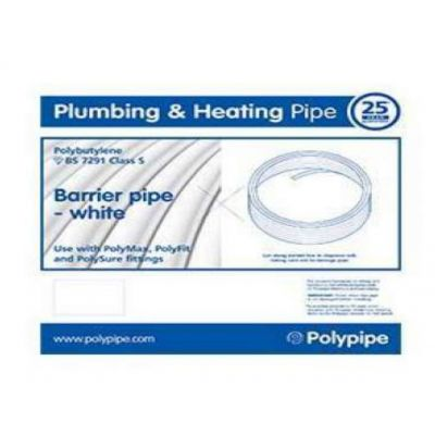 28mm Polypipe PolyFit Polybutylene Barrier Pipe from Heat Direct
