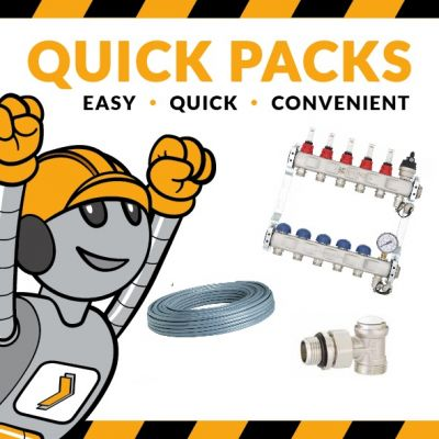 Radiator Manifold Quick Pack from Heat Direct