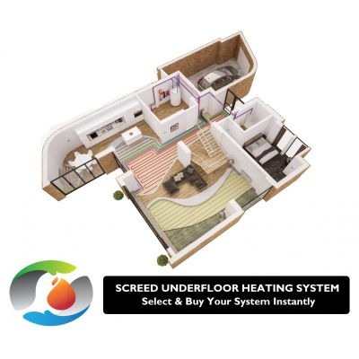Tailored Heat Screed Underfloor Heating Packs