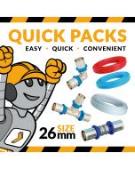 26mm PRess Fit Quick Pack from Heat Direct